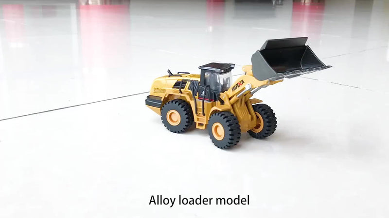 Huina 1714 1:50 Alloy Diecast Wheel Loader 8