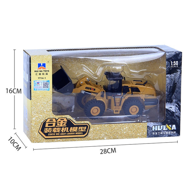 Huina 1714 1:50  Wheel Loader in box