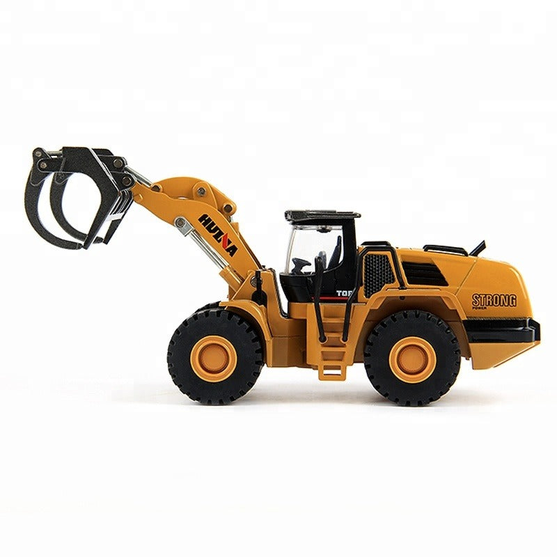 Huina 1713 1:50 Alloy Diecast Timber Loader 4
