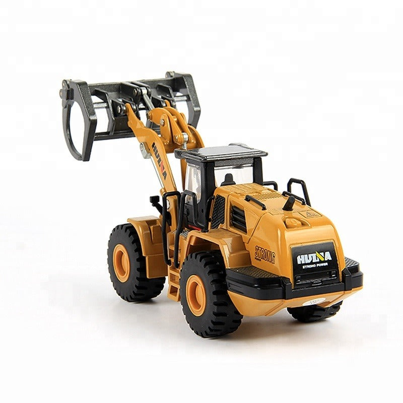 Huina 1713 1:50 Alloy Diecast Timber Loader backview