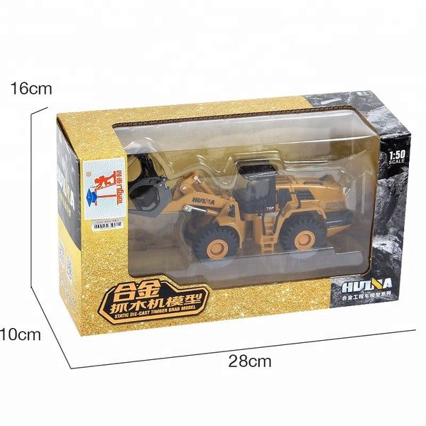Huina 1713 1:50 Alloy Diecast Timber Loader