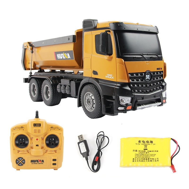 Remote Control Huina 1573 Dump Truck with accessories
