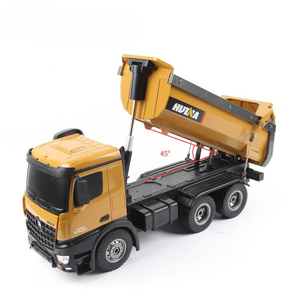 Remote Control Huina 1573 Dump Truck  bucket size