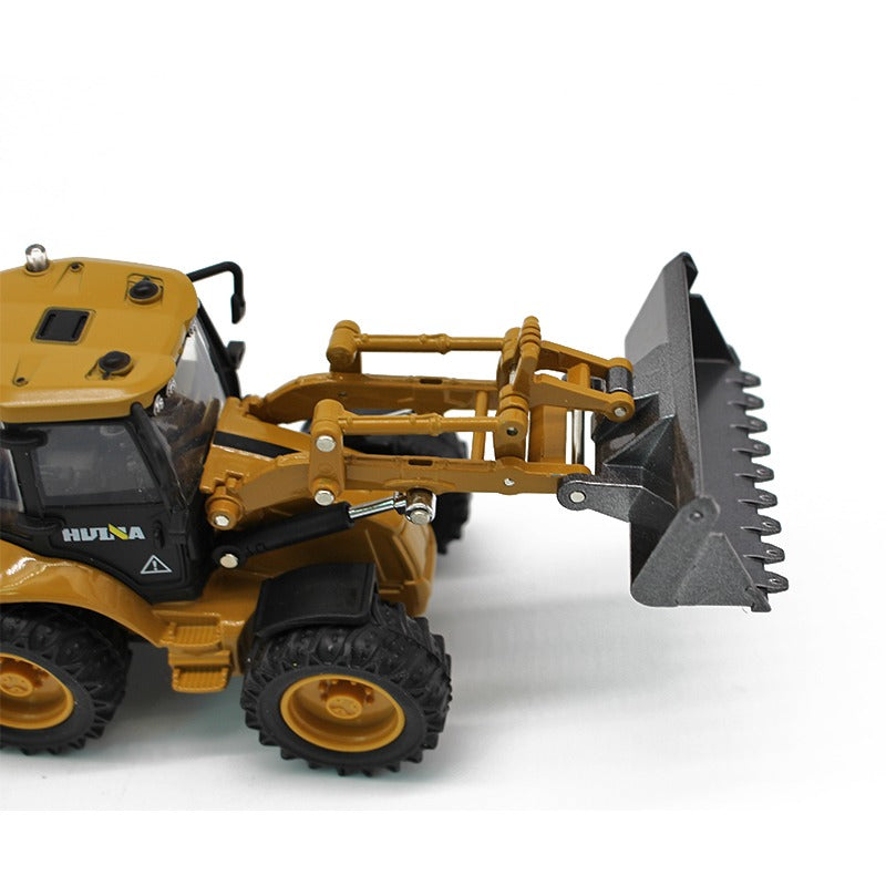 Huina 1:50 Alloy backhoe loader Bucket