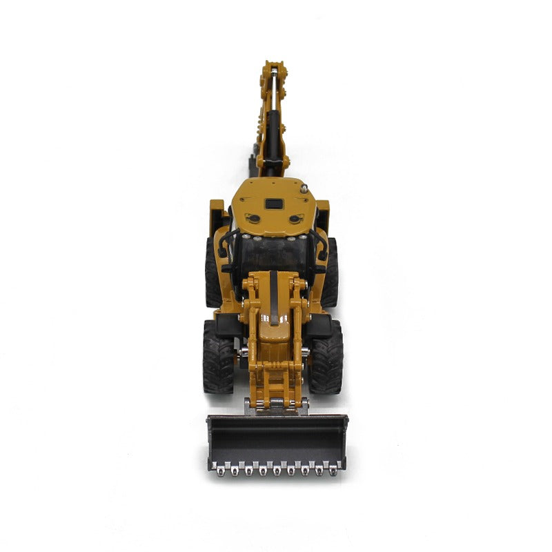 Huina 1:50 Alloy backhoe loader Eye View