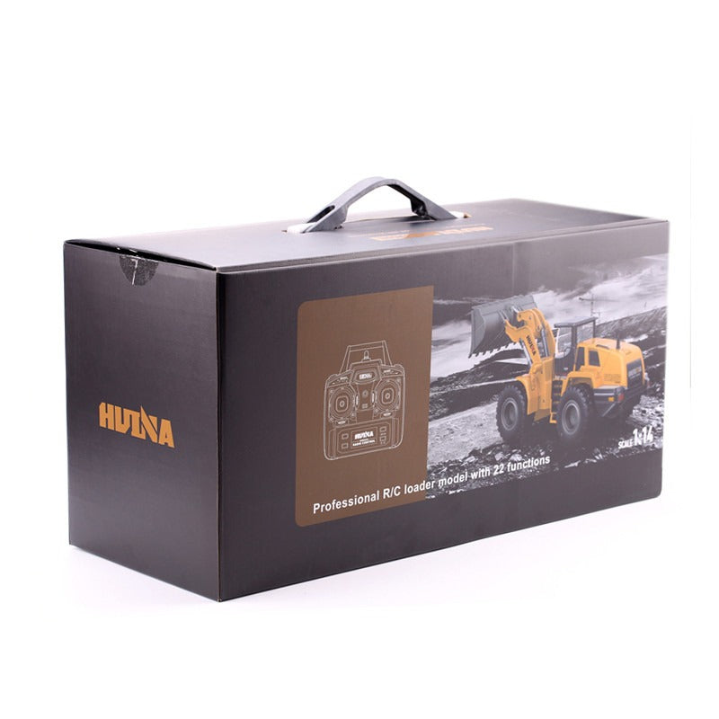 Remote control Huina 1583 Wheel loader toy in box