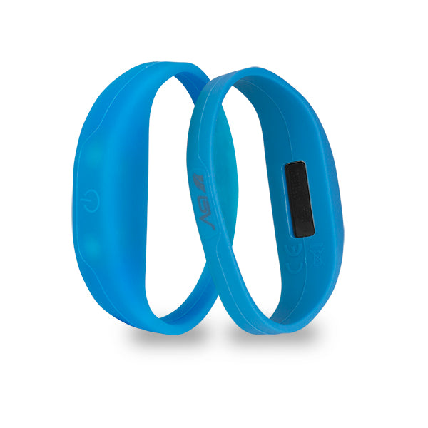 BV 2 Pack LED Safety Activity Bracelet, Blue | BV-BLED-01-BL
