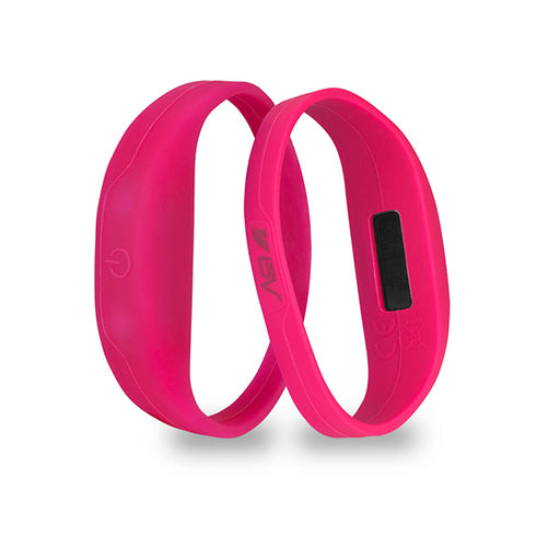BV 2 Pack LED Safety Activity Bracelet, Pink | BV-BLED-01-PK