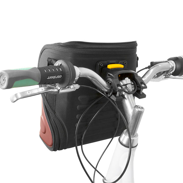 BV Insulated Handlebar Cooler Bag Quick-Release Mount, Red | BV-HB3-RD