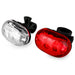 BV Bike 5 LED Headlight 5 LED Taillight, Safety Light Set