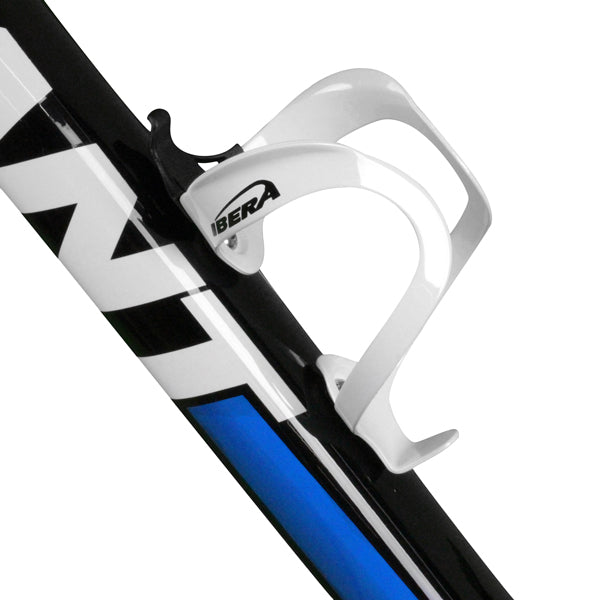 IBERA Aluminum Bottle Cage | PAIR | White