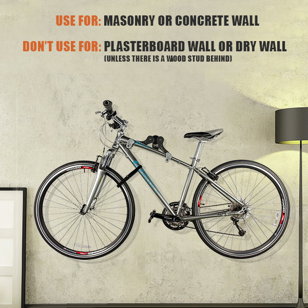 bv bike utility stand - one the wall