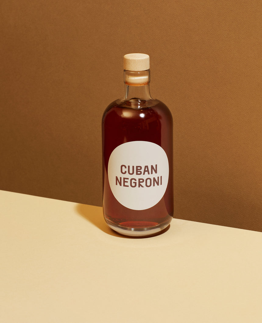 Cocktail - Cuban Negroni
