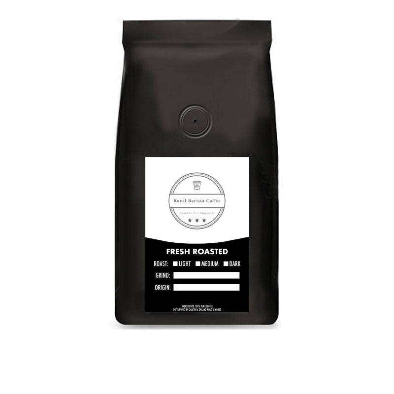 Half-Caf Blend : (1/2 Decaf – 1/2 Regular) | Lower Caffeine; Full Flavor | Medium-Roast Coffee