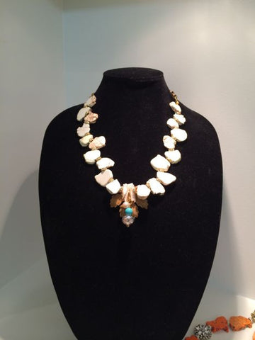 White Turquoise Heirloom Piece