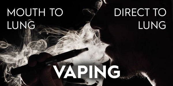 Difference between Direct Lung and Mouth-to-Lung vaping