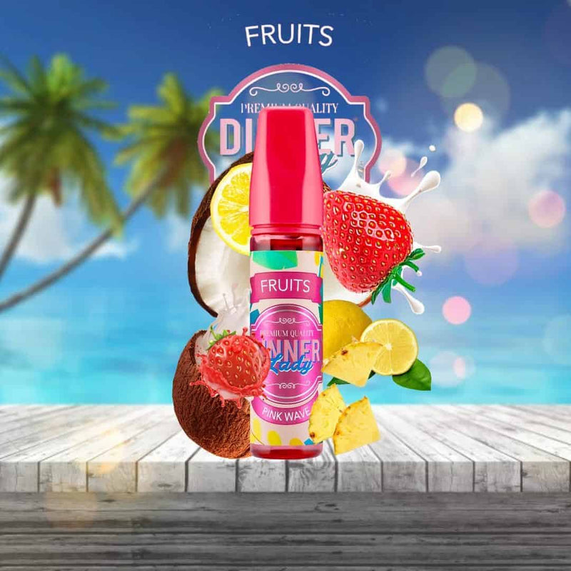 Dinner Lady - Fruits - Pink Wave - 60ML
