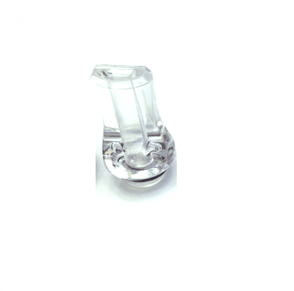 Flat Mouth Acrylic 510 Drip Tips