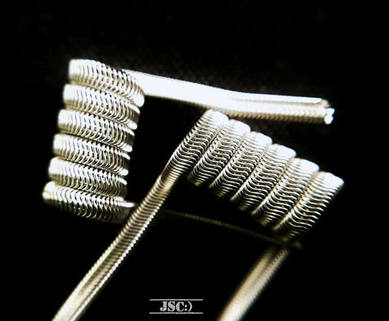 JAMMOS SMILIN COILS - 3mm Alien Coils - 0.19ohm
