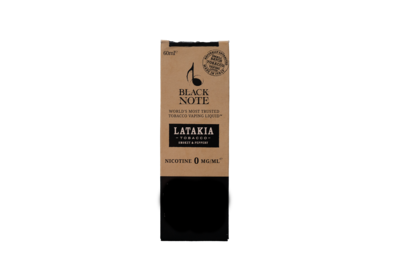 BLACK NOTE - QUARTET - LATAKIA - 60ML