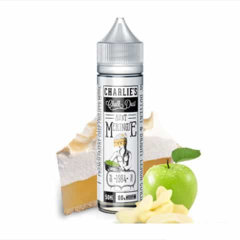 CHARLIE'S CHALK DUST – AUNT MERINGUE – 60ML