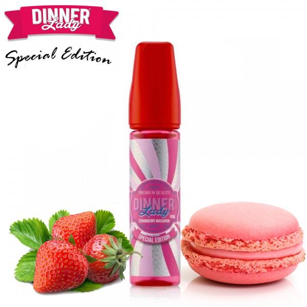 Dinner Lady - Strawberry Macaroon - 60ML