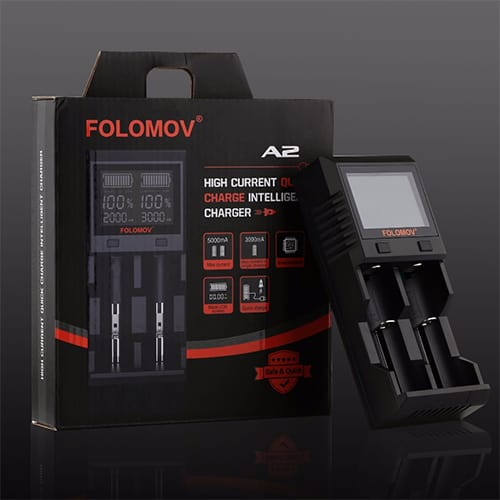 Folomov A2 Quick Charge Intelligent Charger