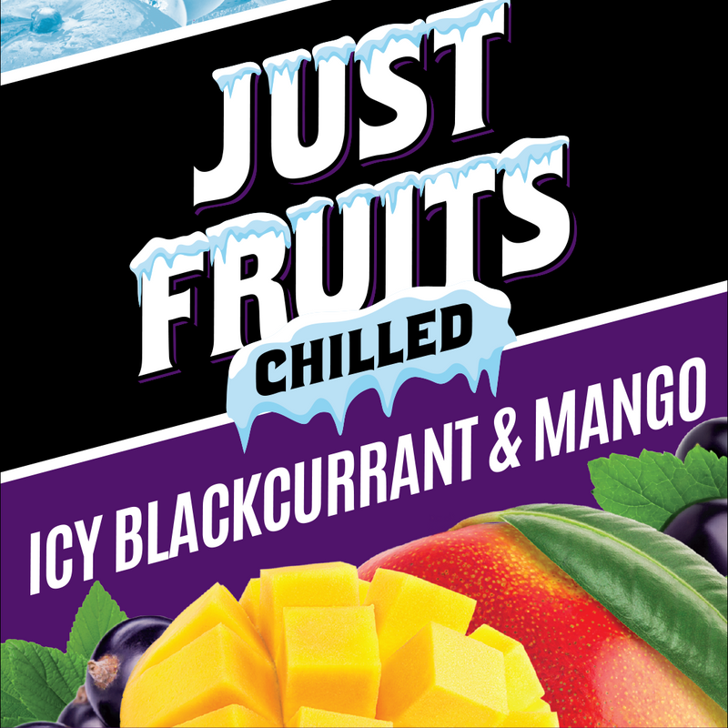 Just Fruits - Chilled - Icy Blackcurrant & Mango - 60ML