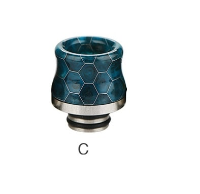 Snakeskin Resin Drip Tip for TFV8 Baby - 510