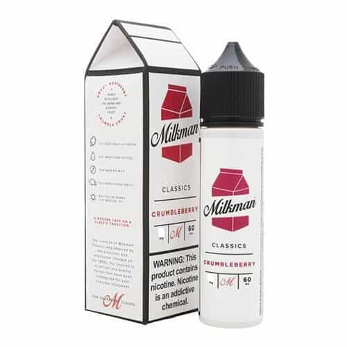 THE MILKMAN - CLASSICS - CRUMBLEBERRY - 60ML