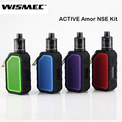 WISMEC Active Bluetooth Music TC Kit with Amor NSE 2ml 2100mAh