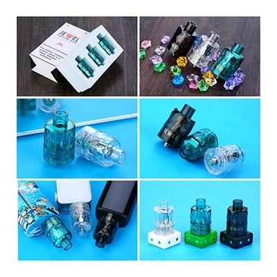 AUGVAPE Jewel Disposable Subohm Tank 3pcs