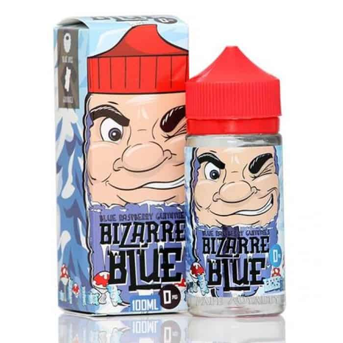 Bizarre Blue - Blue Raspberry Gummies Ice - 100ML