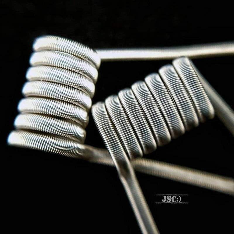Jammos Smilin Coils - 3mm Series Clapton Coils - 0.55ohm