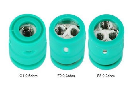 CARRYS - Replacement Coil for Green Tank - 5pcs