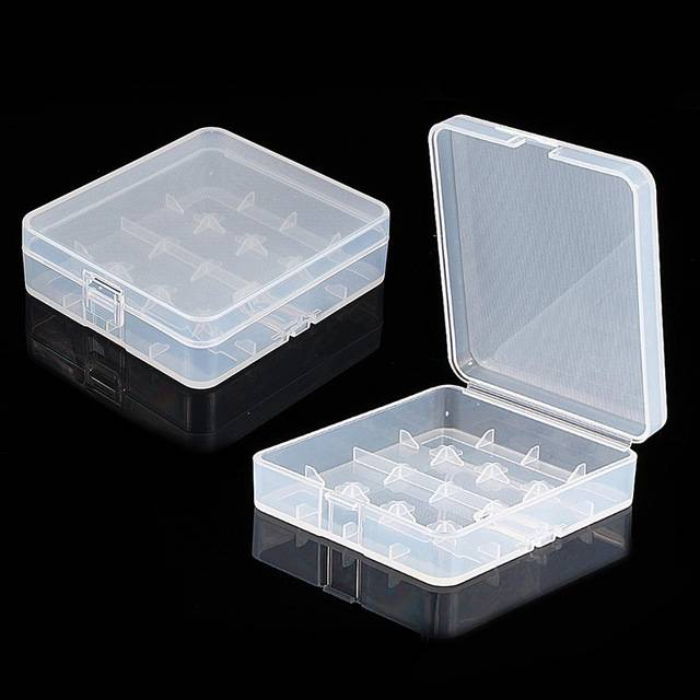 Plastic Storage Case for 18650/26650 Battery