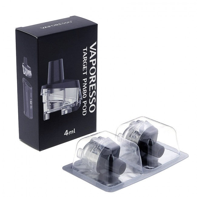 Vaporesso TARGET PM80 Replacement Pods 2 x 4ml