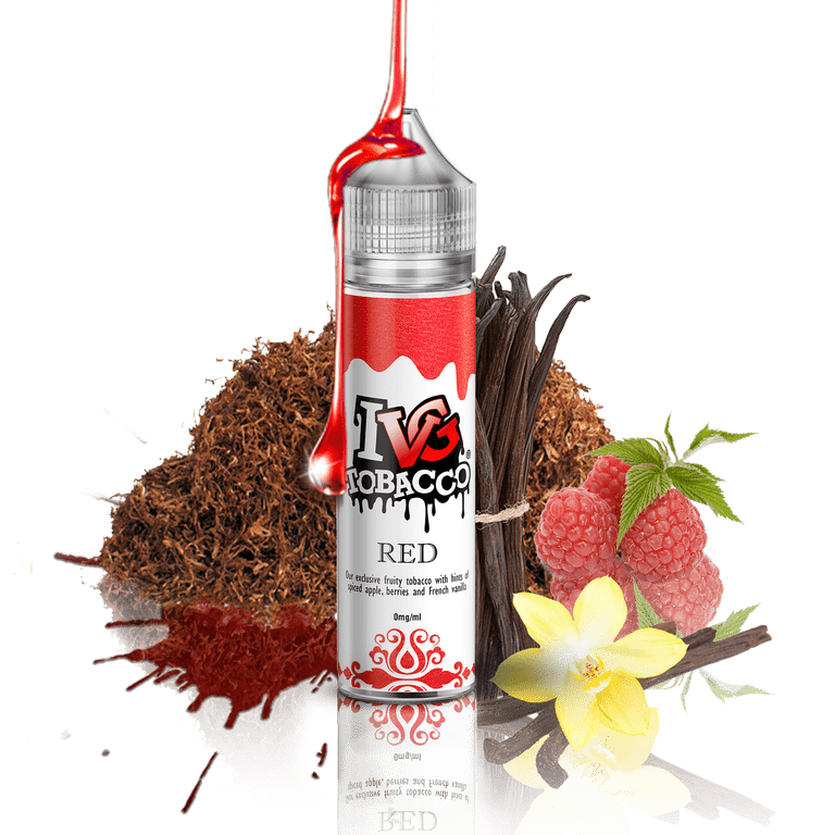 IVG TOBACCO - RED - 50ML
