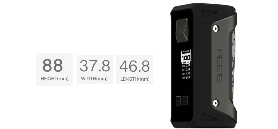 100W GeekVape Aegis TC Box MOD W/O Battery