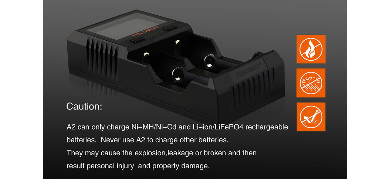 Folomov A2 Quick Charge Charger