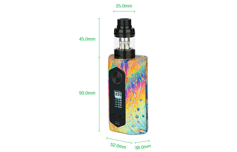 GeekVape Blade 235W TC Kit with Aero Tank