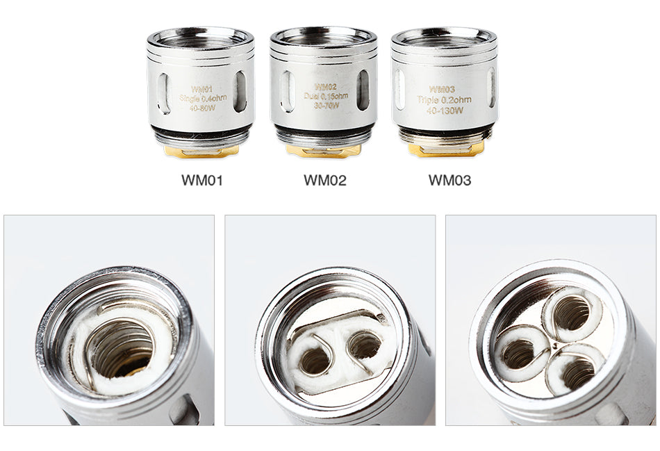 WISMEC WM Coil Head for Gnome 5pcs