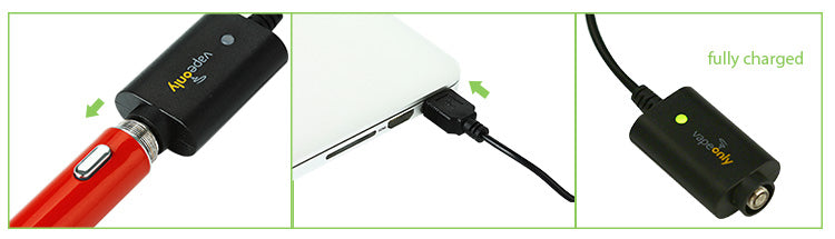 VapeOnly USB Charger for e-Cigarette, w/ Cord