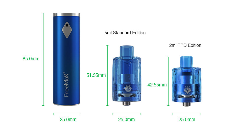 Freemax GEMM 80W Starter Kit 2900mAh
