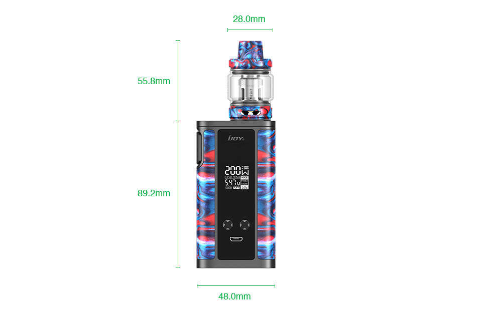 IJOY Captain Resin 200W TC Kit