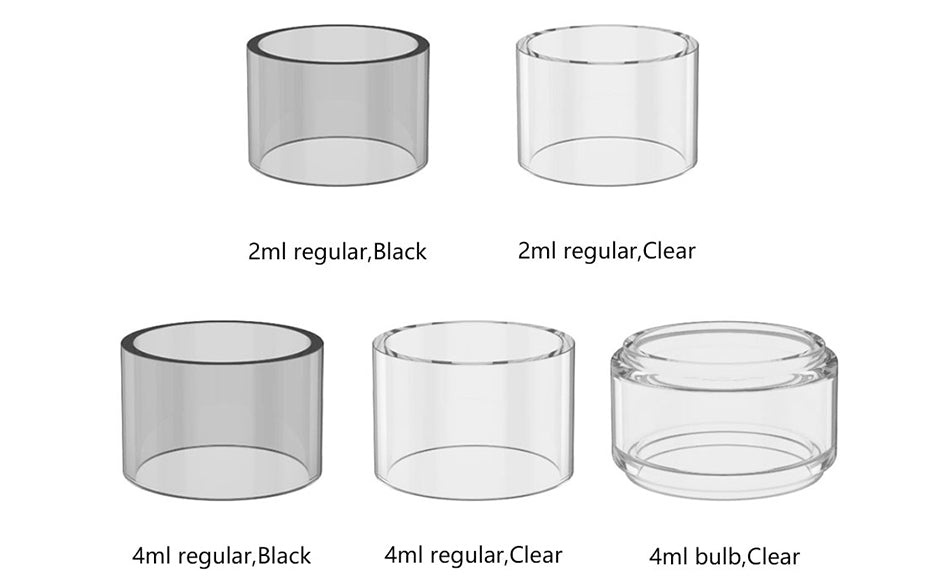 OBS Cube Replacement Glass Tube 2ml/4ml