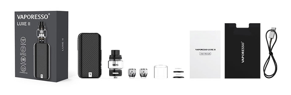 Vaporesso Luxe II 220W TC Kit with NRG-S Tank