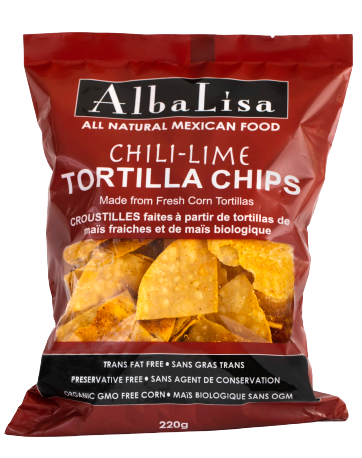 AlbaLisa Chilli Lime Tortilla Chips