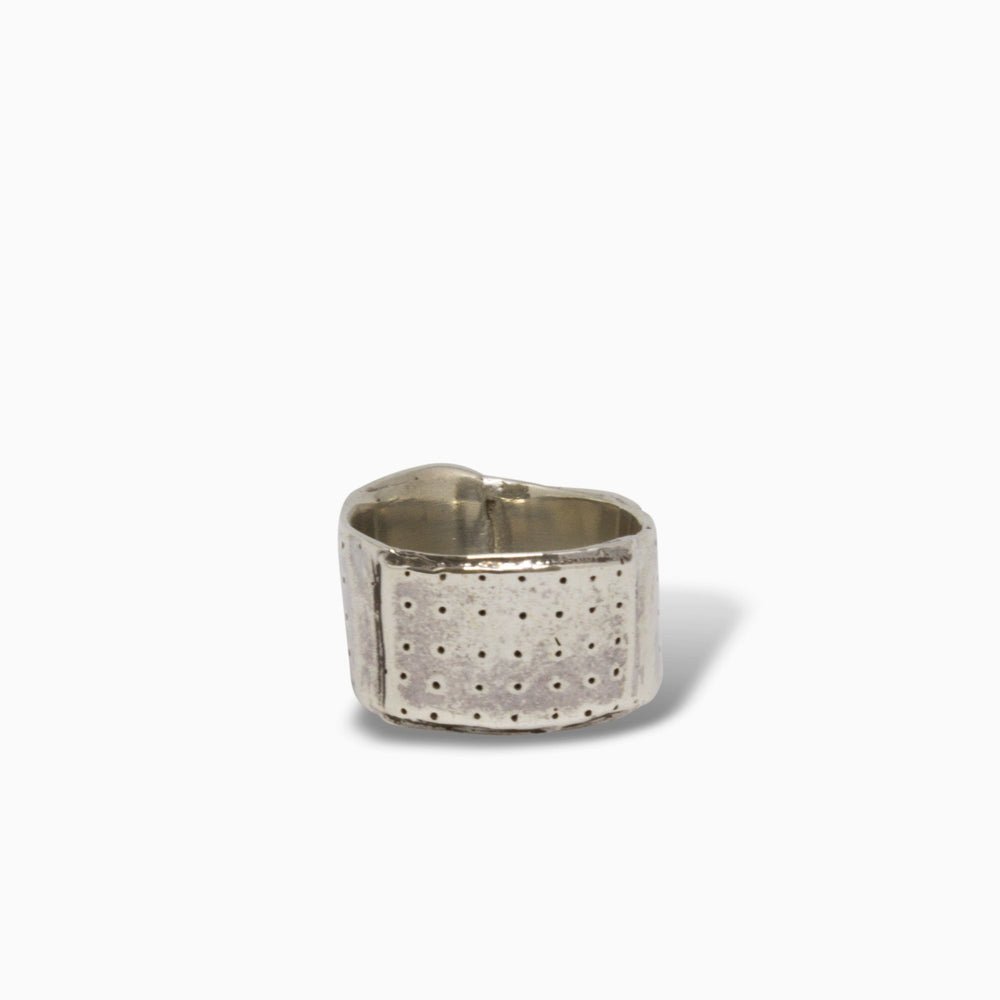 Load image into Gallery viewer, Mini Band-Aid Ring B Silver