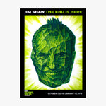 Jim Shaw Exhibition Poster